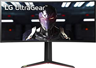 LG 34GP83A-B 34 Inch 21: 9 UltraGear Curved QHD (3440 x 1440) 1ms Nano IPS Gaming Monitor with 160Hz and G-SYNC Compatibil...