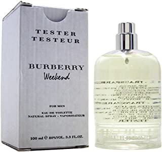 Burberry Weekend by Burberry for Men - 3.3 oz EDT Spray (Tester)
