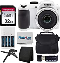 Kodak PIXPRO AZ252 Astro Zoom 16MP Digital Camera (White)...