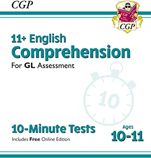 New 11+ GL 10-Minute Tests: English Comprehension - Ages 10-11 (with Online Edition)