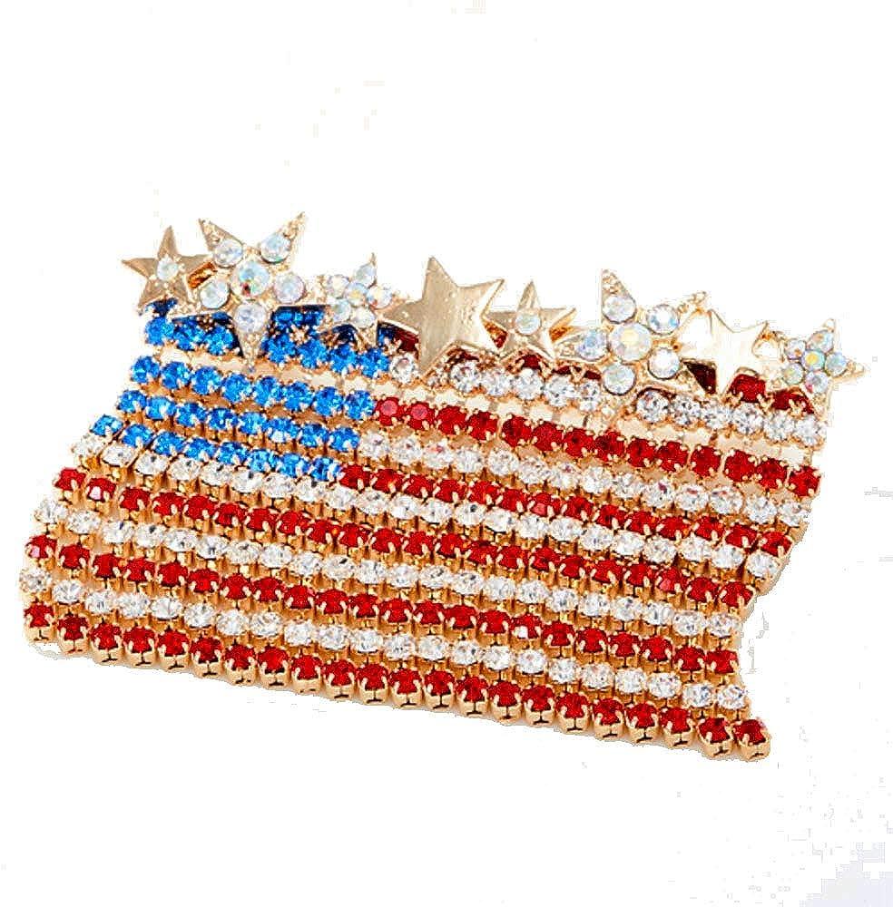 Kirks Folly Dancing Horizontal Pin Selling rankings goldtone supreme Flag American