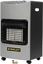 Bricoloco Estufa de Gas Stanley Tecnología Infrarrojos de Alta Potencia Calorífica 4200W. Calentamiento eficaz 80 m3. Eficiente distribución del Calor. Gas Butano/propano. Incluye Tubo y regulador.