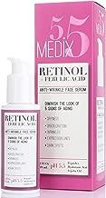 Medix 5.5 Retinol Serum for Wrinkles, Expression Lines, Dark Spots, and dry skin. 2oz..