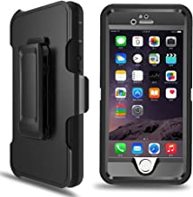 iPhone 6 Plus Case, iPhone 6s Plus Defender Case with Belt Clip, Kickstand, Holster,..