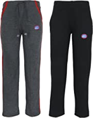 VIMAL JONNEY Multicolor Cotton Blended Trackpants for Girls(Pack of 2)-K5ANTHRA-K10BLACK_002-P