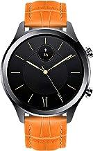 BINLUN Bandas de Reloj compatibles con Ticwatch C2 / Ticwatch 2 / E/S, Ticwatch S2 / E2, Ticwatch Pro 4G LTE Smartwatch Correa de Cuero Genuino Reemplazo 18mm 20mm 22mm Pulsera de Pulsera