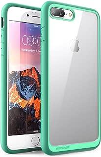 SUPCASE Unicorn Beetle Style Case Designed for iPhone 7 Plus, iPhone 8 Plus Case, Premium Hybrid Protective Clear Case for Apple iPhone 7 Plus 2016 / iPhone 8 Plus 2017 (Green)