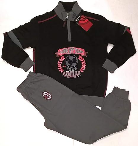 Pigiama Milan Adulto Abbigliamento Ufficiale AC Milan PS 09490 ...