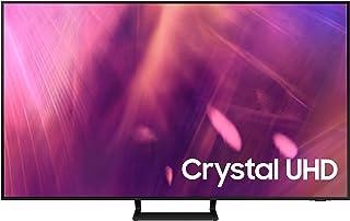 Samsung 75 Inches AU9000 Crystal UHD 4K Flat Smart TV (2021), Black, UA75AU9000UXZN