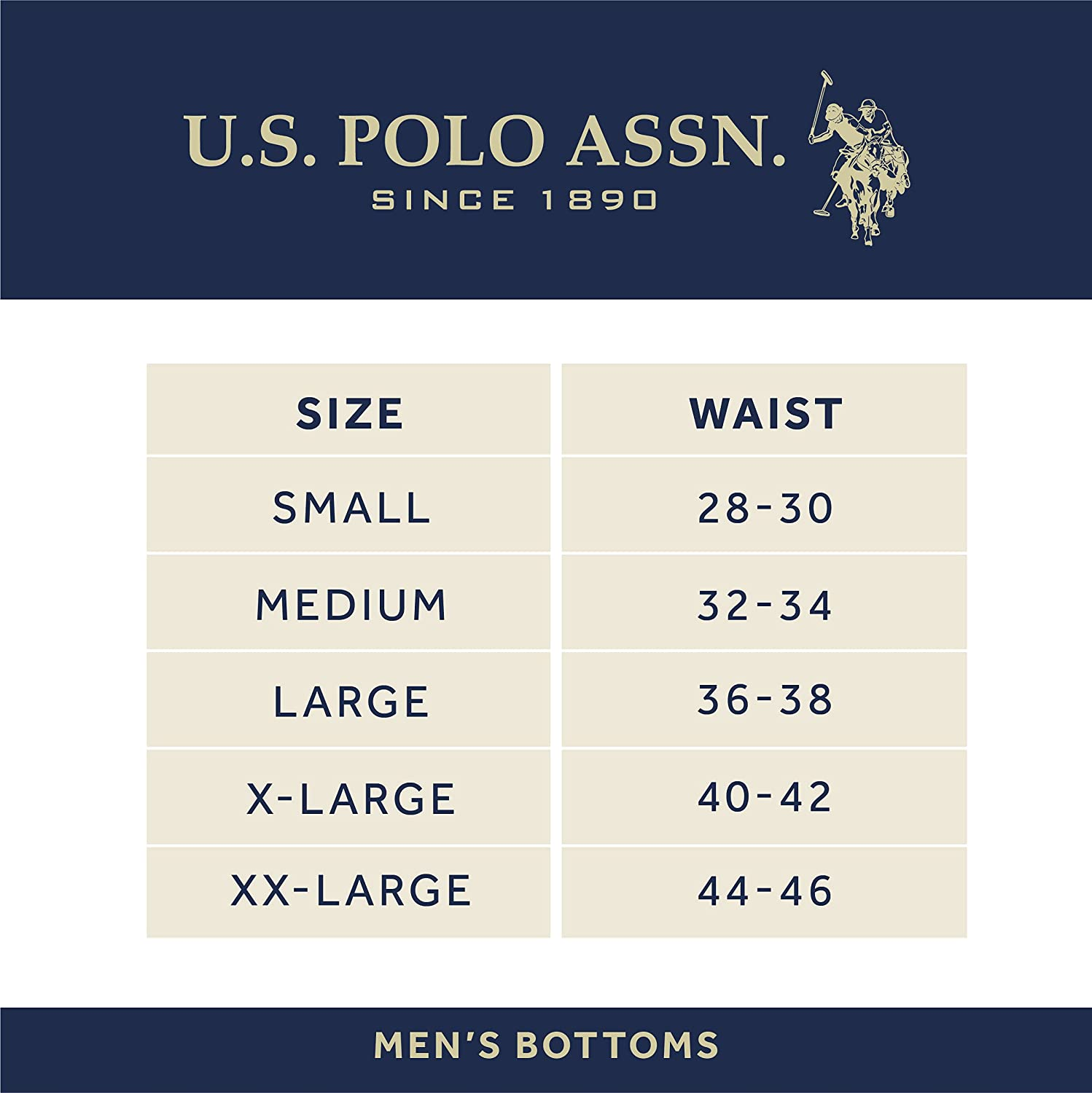 U.S. Polo Assn. Men's Cotton Stretch Boxer Briefs with Comfort Pouch (4 Pack)