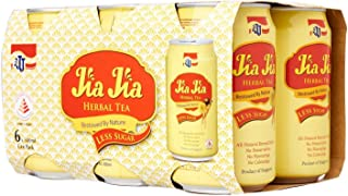 JJ Jia Jia Herbal Tea Less Sugar, 300 ml (Pack of 6)