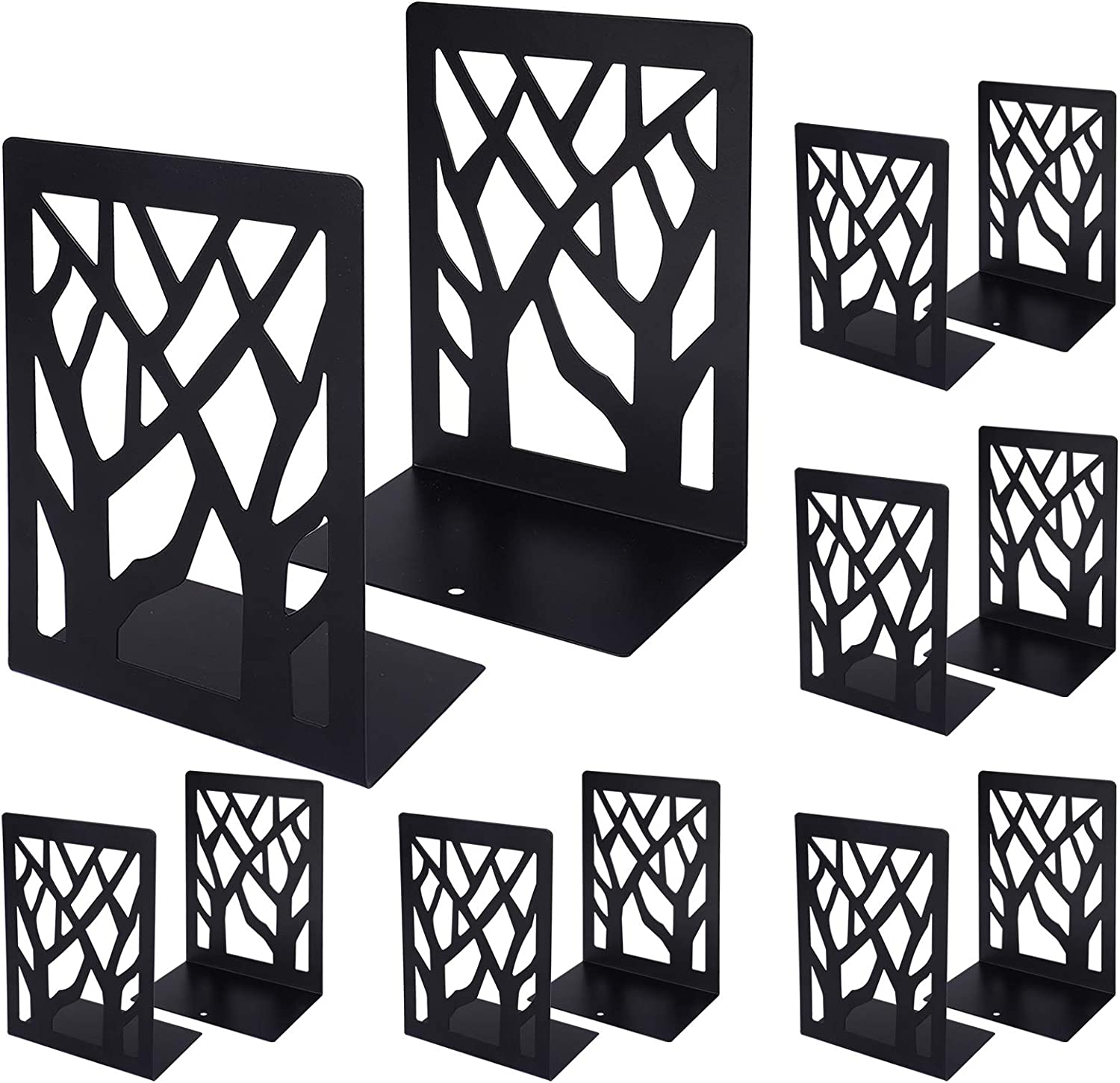 Helsens New Shipping Free Bookends Memphis Mall Book Ends Metal Shelve for