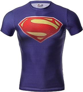 e6dc76d09d517 Cody Lundin Super Héros Homme Compression T-Shirt Mouvement Collant  Vêtement Fitness Chemise