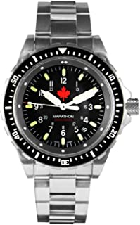 Watch WW194018 JSAR Swiss Made Military Jumbo Diver's Watch with MaraGlo Illumination, Sapphire Crystal (46mm)