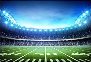 HUAYI Football Field Backdrop Newborn Photography Props Photography Background Baby Photo Studio Props 10x8ft YJ-024
