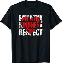 Empathy Kindness Respect Choose Kind Anti Bullying Shirt