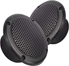 Magnadyne 3 INCH Dual Cone Speaker/Grill - Polypropylene Woofer Cone 2.8 oz Magnet SOLD AS A PAIR (Black)