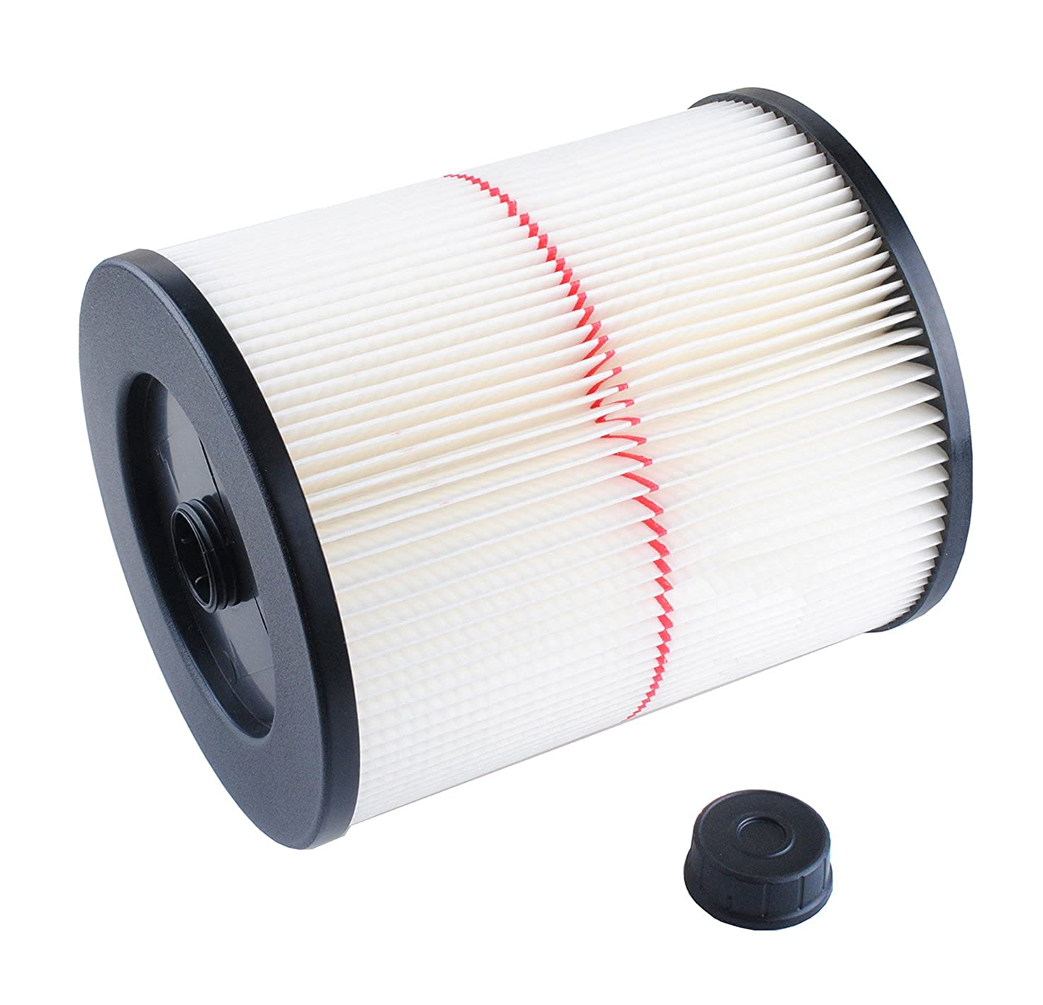 Wadoy 17816 Filter for Craftsman Shop Vac 917816, 9-17816 Wet Dry Vac Filter for 5 Gallon Vacuum Cleaner