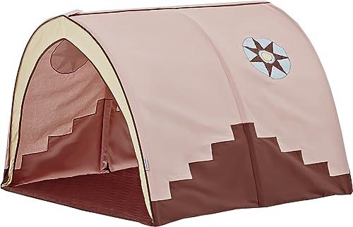 Hoppekids Tunnel   H e Indian Girl für Hochbett, Halbhochbett, Spielbett Breite 90cm  , Textil, pfirsich, 90 x 73 x 102 cm