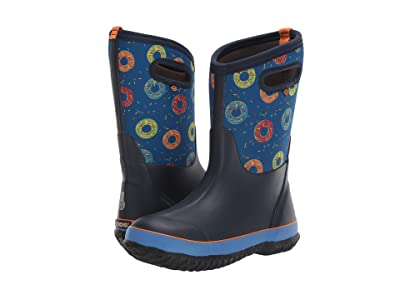 Bogs Kids Classic Design A Boot Donuts (Toddler/Little Kid/Big Kid) (Blue Multi) Boys Shoes