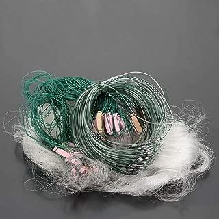 Lixada 25m 3 Layers Monofilament Fishing Fish Gill Net with Float #1/#2/#3/#4/#5/#6