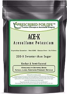 Acesulfame Potassium (Ace-K) - 200x Sweeter than Sugar - Kosher Semi-Natural Granular Sweetener, 12 oz