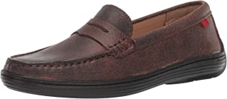 MARC JOSEPH NEW YORK Kids' Leather Boys/Girls Casual Comfort Slip on Moccasin Loafer Shoes Driving Style
