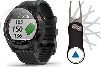 $214 » Garmin Approach S40 (Black) Golf GPS Smartwatch Bundle | Includes Garmin/PlayBetter Pitchfix Divot Tool & HD Screen Protec...