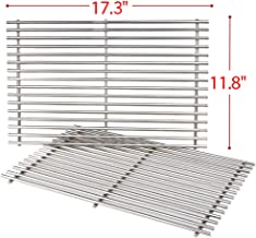 weber gas grill with stainless steel grates
