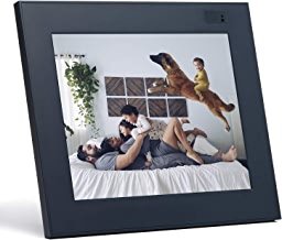 """Aura Digital Photo Frame, 10"""" HD Display, 2048 x 1536 Resolution with Free Cloud Storage, Oprah's Favorite Things List 2018, Stone WiFi Picture Frame"""