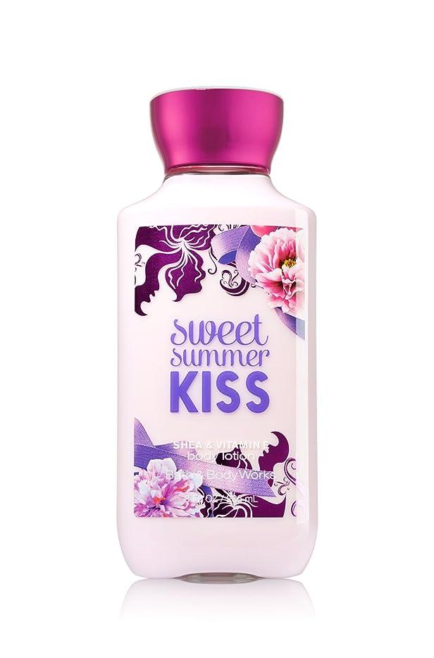 カウンターパート勇気のある攻撃的Bath Body Works Sweet summer KISS Body lotion 236g 並行輸入品