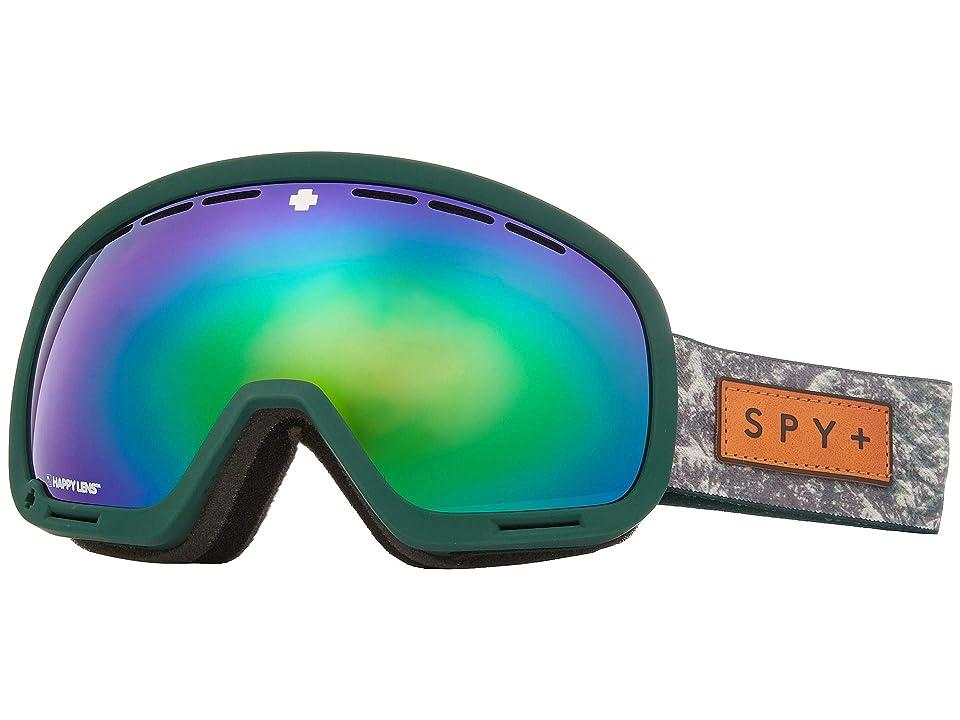 Spy Optic Marshall (Native Nature Green Happy Bronze w/ Green Spectra+Happy Persimmo) Snow Goggles