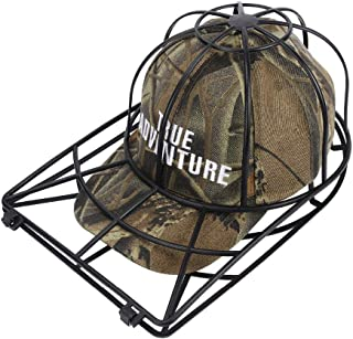 Baseball Cap Washer Great Hat Cleaner and Ball Cap Hat Washer. Clean Your Entire Collection From Your Cap Organizer, Hat Rack or Cap Holder Easily Cleans in Your Dishwasher or Washing Machine--BLACK