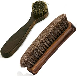 horsehair brush leather