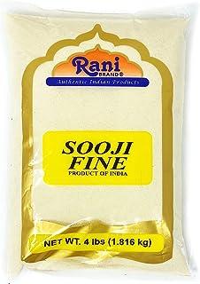 Rani Sooji Fine (Farina,Suji,Rava) Flour 4lbs (64oz) ~ All Natural | Vegan | Non-GMO | Indian Origin
