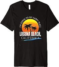 I'm Going to My Happy Place Laguna Beach, California Premium T-Shirt