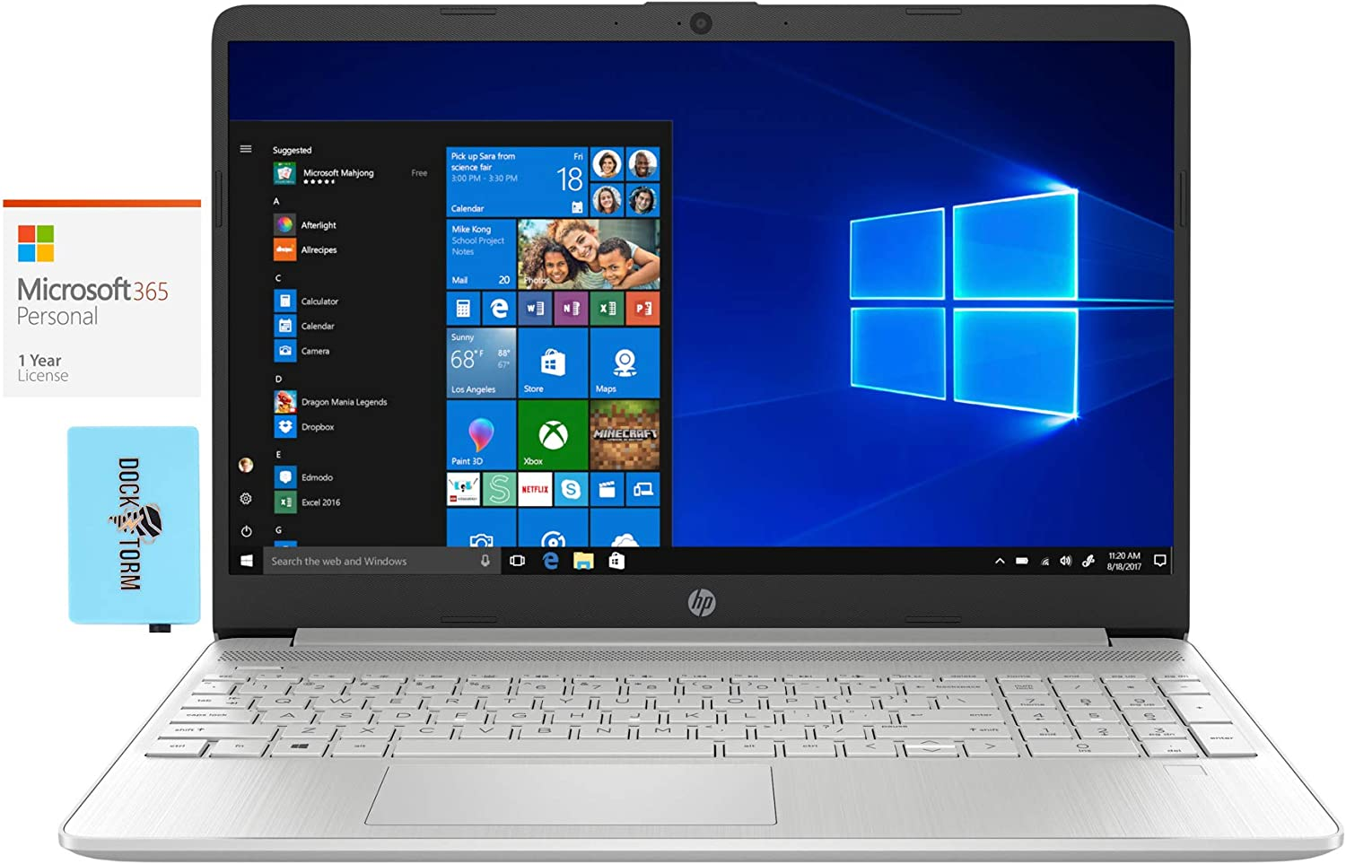 Year-end gift HP 15-dy HD Home and Business i3-1115G4 Houston Mall 16 Laptop 2-Core Intel