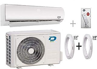 Diloc Frozen Aire Acondicionado Wifi 24000 Btu R32 Climatizador Inverter Pared D.FROZEN24+D.FROZEN124 Compresor Sharp + Tubos Cobre Par 3/8