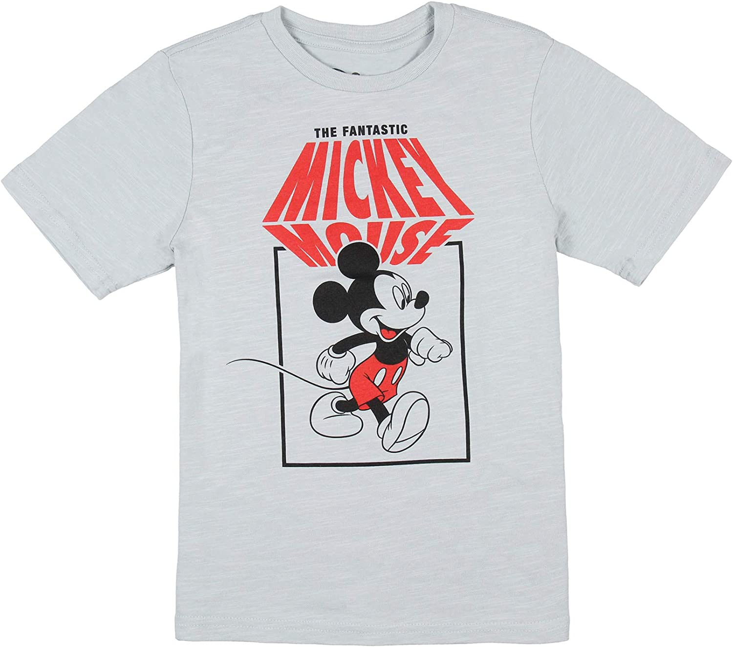 Disney Boy's The Fantastic Mickey Mouse Character Graphic T-Shirt