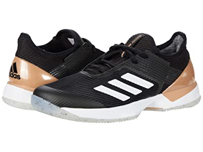 adidas Adizero Ubersonic 3 (Core Black/Footwear White/Copper Metallic) Women