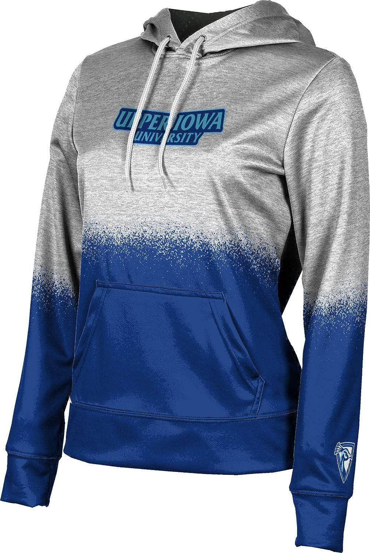 ProSphere Upper Iowa University Girls' Pullover Hoodie, School Spirit Sweatshirt (Spray Over)