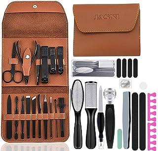 35PCS Pedicure Manicure Set, Professional Nail Clipper Kit Pedicure Kit Care Tools, Foot File Pedicure Set, Foot Files Foo...