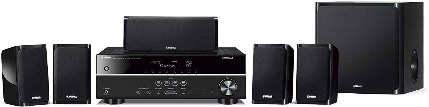 Image of Yamaha YHT-1840 5.1-Channel Home Theatre System