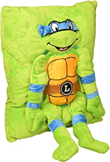 KidsWarehouse Nickelodeon Teenage Mutant Ninja Turtles Plush Throw Pillow - Leonardo