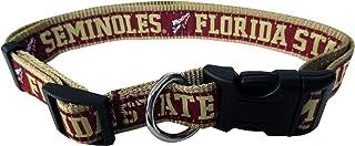 florida state seminoles dog collar