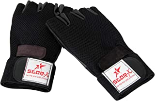 StarX GG370 Gym Gloves, Adult Free Size (Black)