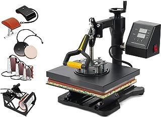 "Smarketbuy 8 in 1 Digital Multifunctional Heat Press Machine 12"" x 10"" Heat Transfer Machine for T Shirts Hat Mug Cap Plat..."