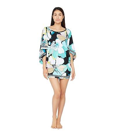 Trina Turk Sintra Flora Tunic Dress Swimsuit Cover-Up (Multi) Women