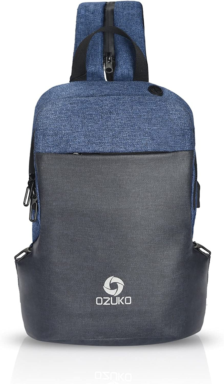 cd7f26abe585 FANDARE Casual Sling Bag Backpack with Earphone Hole Shoulder ...
