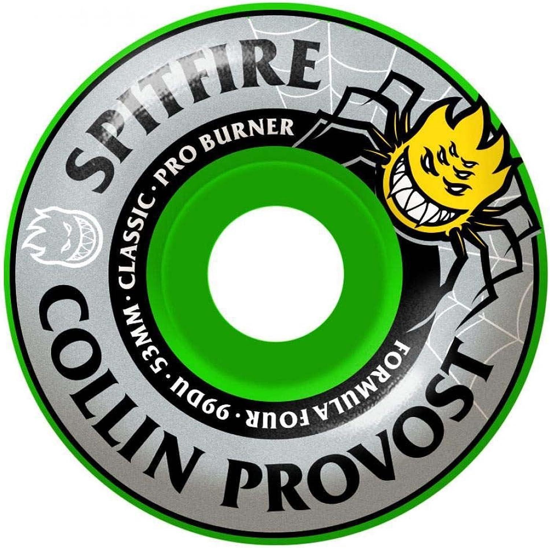 Spitfire Formula Four Collin Collin Collin Provost Pro Burner 99D Wheels Grün 53mm B07D4L4KTM  Vollständige Spezifikation ad333d